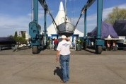 Воскресник в московском яхт-клубе