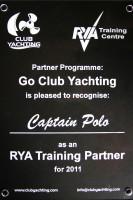Сертификат RYA Traning Centr