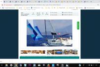 Форма заказа нашей учебной яхты